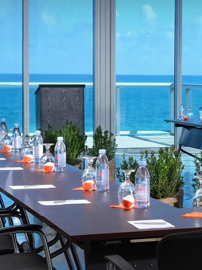 Ocean view Meeting Ballroom, at Solé Miami